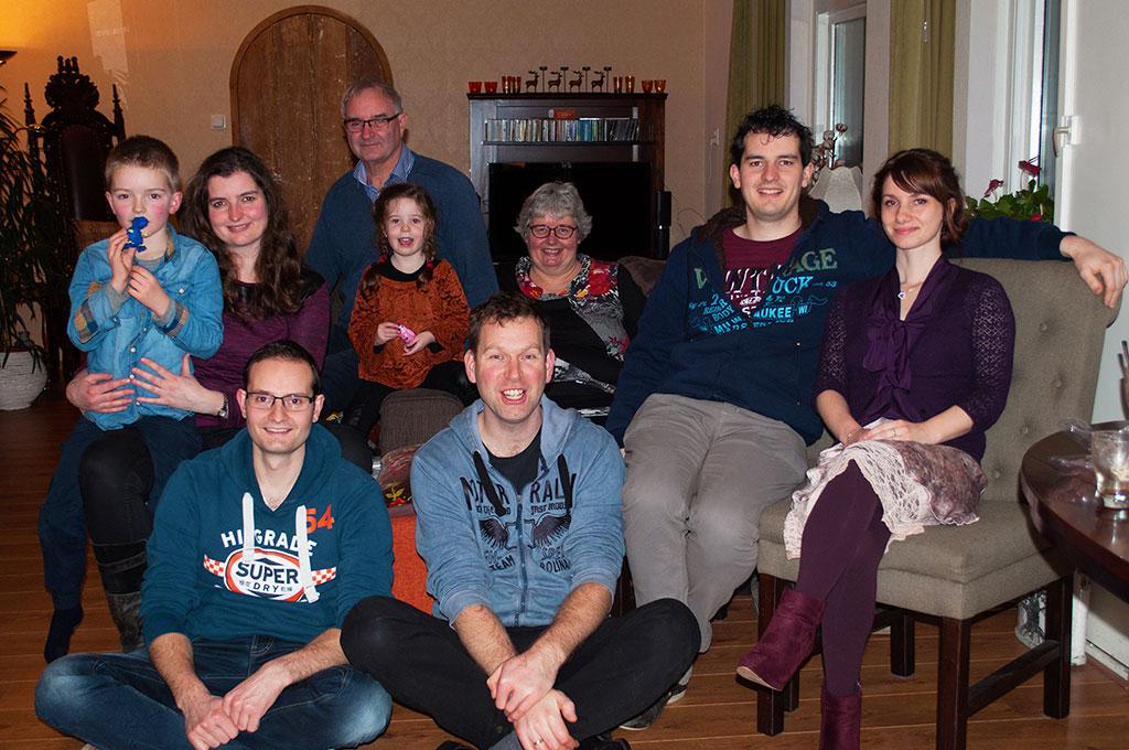 familiefoto Tweehek jeugdvakanties