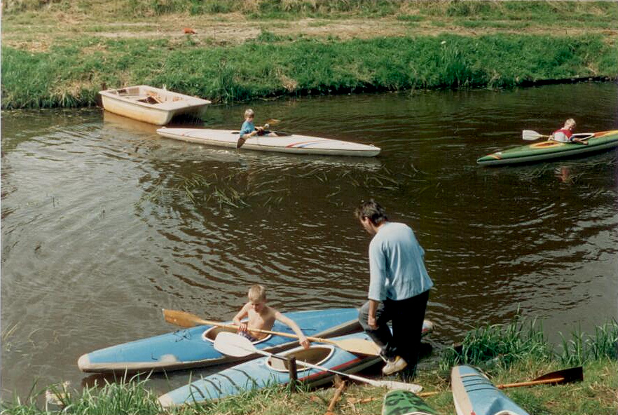 kanoen geschiedenis tweehek