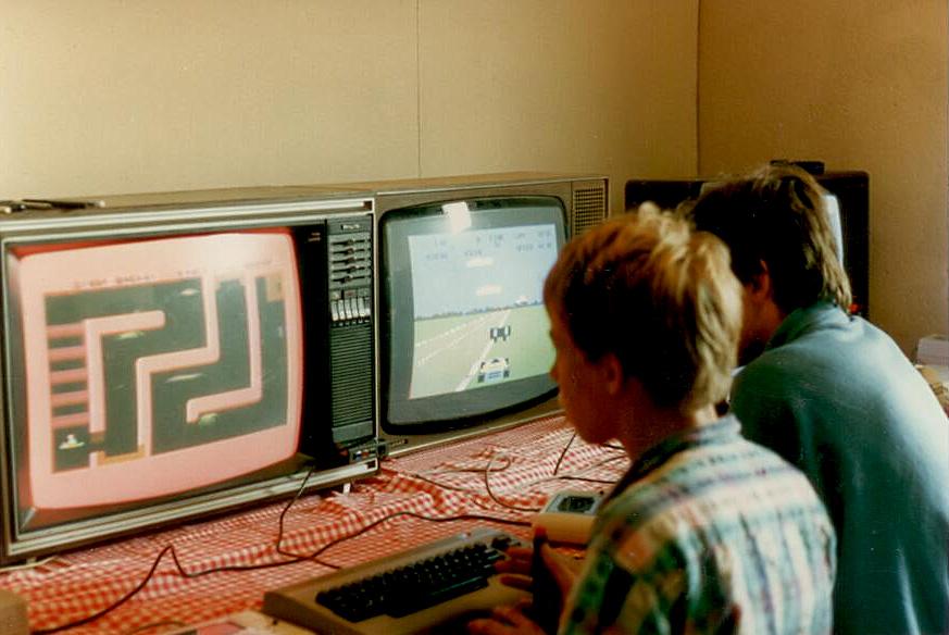 geschiedenis computerkamp