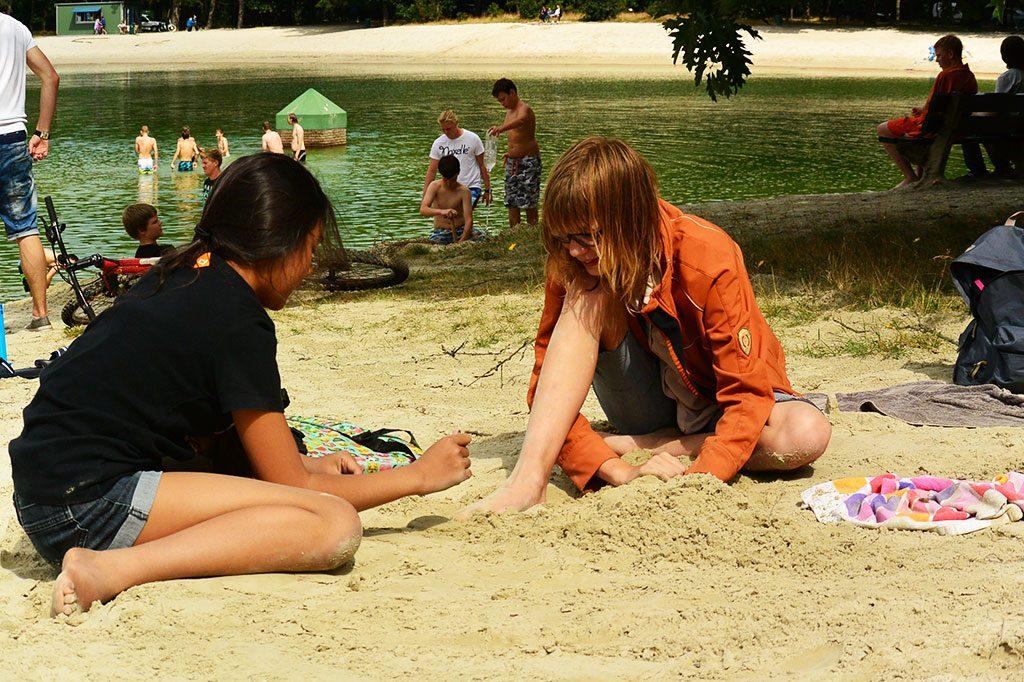 GirlsCamp zwemmen loomeer