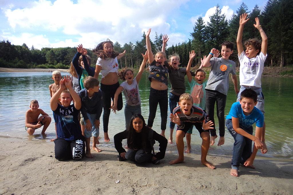 zomerkamp survivalkamp bushtrail