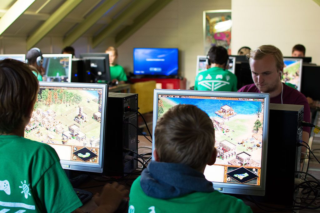 gamen jongeren computerkamp