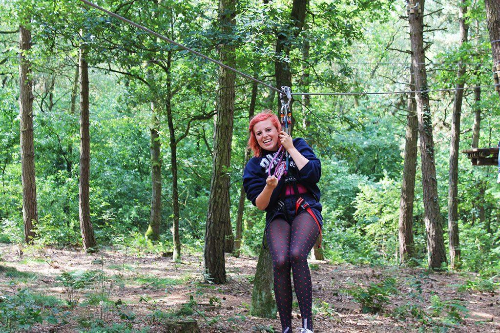 jongeren avonturenkamp klimpark