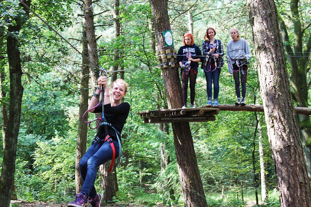zomerkamp avonturenkamp ziplines