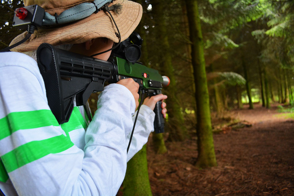zomerkamp outdoor lasergamen