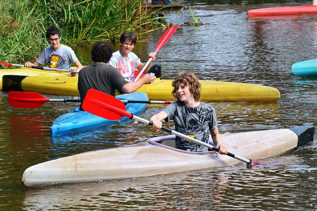 zomerkampp avonturenkamp kanoen