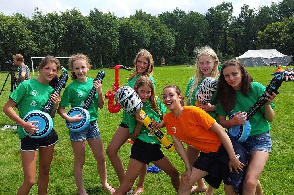 begeleiders zomerkampen