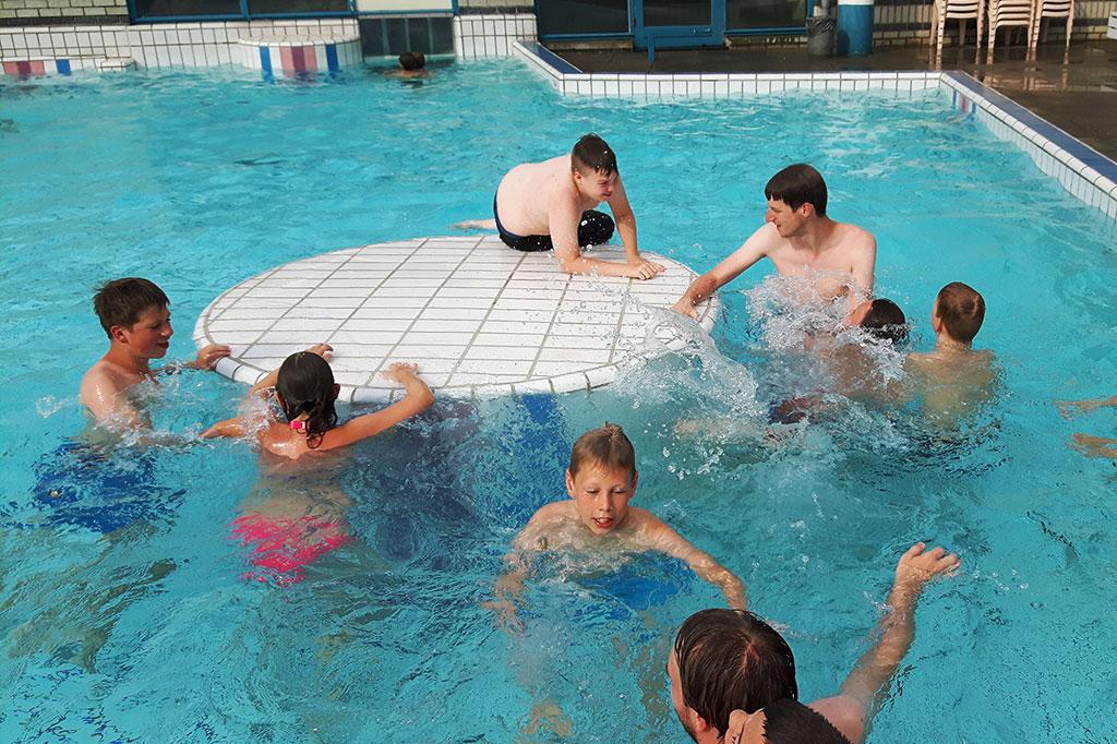 techcamp zwembad